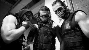 Shield Backstage at WrestleMania