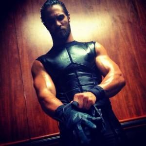Seth Rollins Getting Ready WWE Instagram Photo