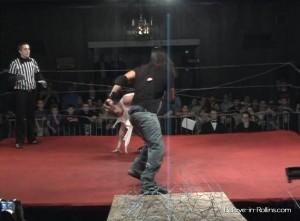 Black vs. Brave Barbed Wire Match 264